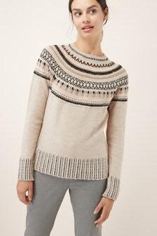 Fairisle Pattern Sweater