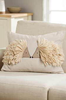 Harry And Hattie The Hedgehogs Cushion