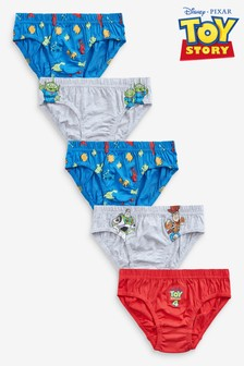 5 Pack Disney™ Toy Story Briefs (1.5-8yrs)