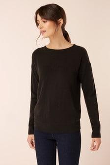 Cosy Boat Neck Sweater