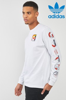 adidas Originals Long Sleeved Graphic Tee