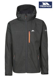 Trespass Black Desmond Male Softshell Jacket