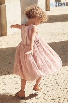 Wheat Pink Marie Dress