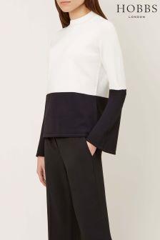 Hobbs Black White Kia Sweater
