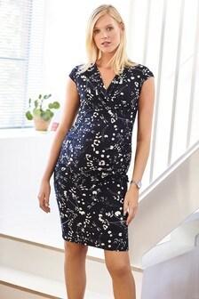 Maternity Gathered Dress