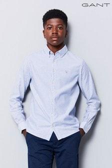 GANT Teen Blue Archive Oxford Striped Shirt