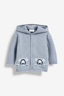 Tiger Knit Cardigan (0mths-2yrs)
