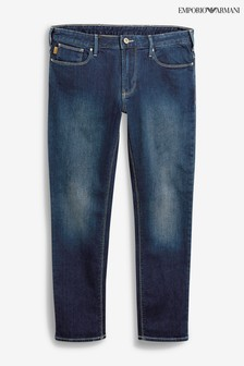 Emporio Armani Mid Wash J06 Slim Fit Jean