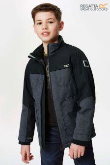 Regatta Grey Kashton Waterproof Jacket