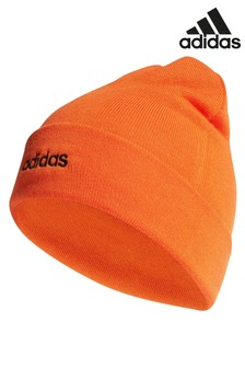 adidas Orange Turn Up Light Beanie