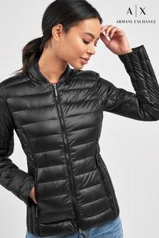 Armani Exchange Black Padded Jacket