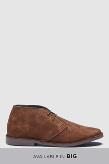 Wide Fit Suede Desert Boot