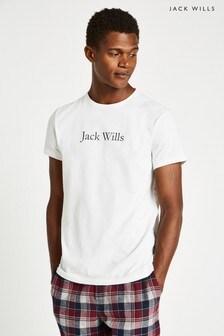 Jack Wills White Shakeston T-Shirt