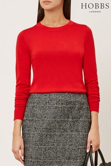 Hobbs Red Penny Sweater