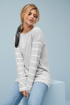 Cosy Button Back Top
