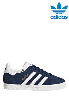 adidas Original Navy/White Gazelle Trainers