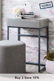 Sloane Grey Slim Dressing Table