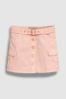 Utility Denim Skirt (3-16yrs)