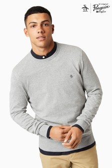 Original Penguin® Rain Heather Crew Sweater
