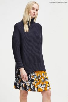 French Connection Navy Mozart Jumper