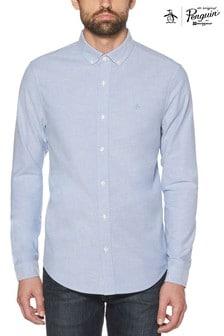 Original Penguin® Amparo Blue Oxford Shirt
