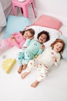 Fruit Snuggle Pyjamas Three Pack (9mths-8yrs)