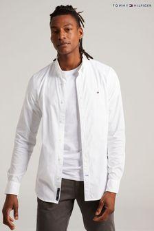 Tommy Hilfiger White Slim Oxford Shirt