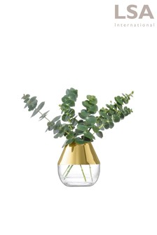 LSA International Space Gold 10cm Vase