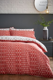 Content by Terence Conran Linear Duvet Cover and Pillowcase Set