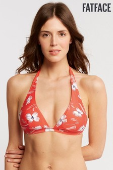 FatFace Red Bold Blooms Classic Top