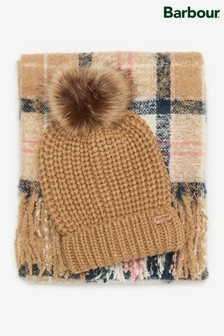 Barbour® Saltburn Beanie and Scarf Gift Set