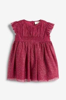 Mesh Party Dress (0mths-2yrs)