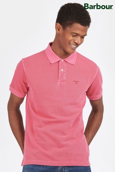 Barbour® Pink Washed Sports Polo Shirt