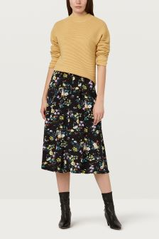 Finery London Yellow Thistle Jumper