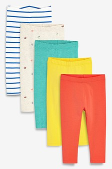 Bright Leggings Five Pack (3mths-7yrs)