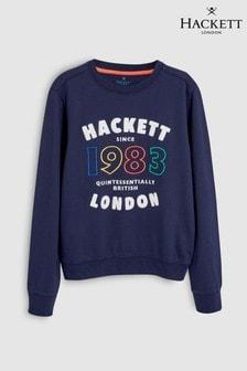 Hackett Kids Blue Logo 1983 Sweat