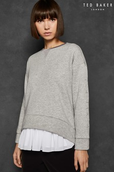 Ted Baker LOLII Grey Slogan Sweater