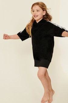 Hooded Towelling Dress (3-16yrs)