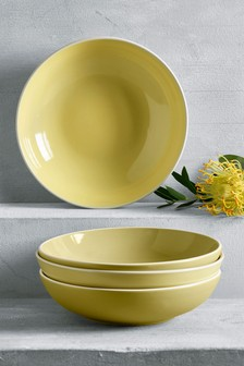Set of 4 Kempton Pasta Bowls
