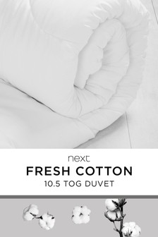 Cotton 10.5 Tog Duvet