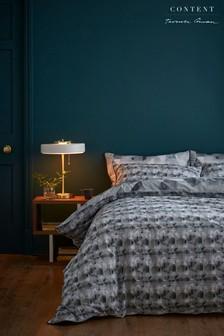 Content by Terence Conran Abstract Duvet Cover and Pillowcase Set
