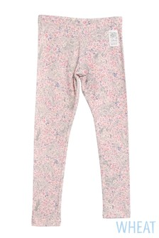 Wheat Pink Princess Legging