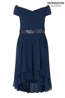 Monsoon Abigail Bardot Prom Dress
