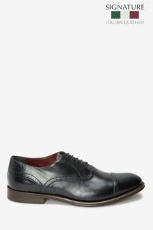 Signature Punched Toe Cap Shoes