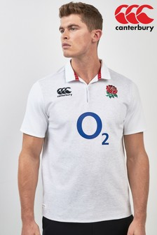 Canterbury England Rugby Short Sleeve Jersey