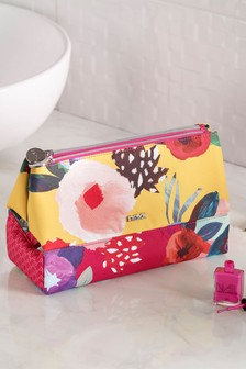 Floral Folding Cosmetic Bag