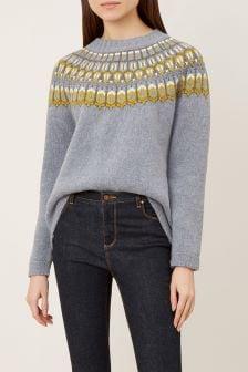 Hobbs Grey Madeline Sweater