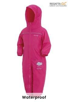 Regatta Pink Waterproof Puddle Suit