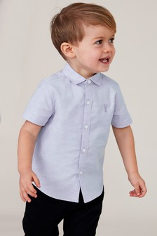Short Sleeve Oxford Shirt (3mths-7yrs)
