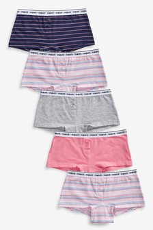 Stripe Boxers Five Pack (2-16yrs)